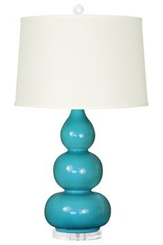 Bungalow 5 Hutton Dark Turquoise Table Lamp