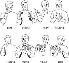 learning sign language phrases - Google Search