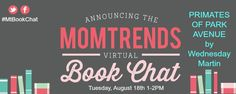 Momtrends Virtual Book Chat with Wednesday Martin - MomTrendsMomTrends