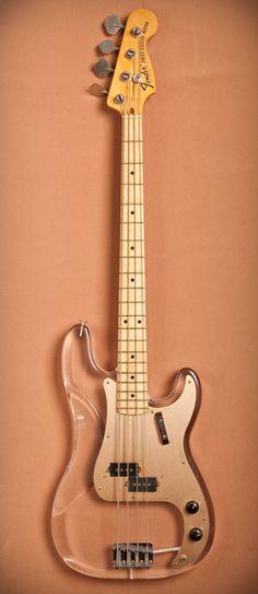 John Entwistle Fender Lucite P-Bass #basses