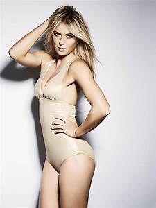 All About Celebrity: Maria Sharapova Esquire Photoshoot