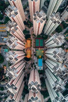 Aerial View of Hong Kong. Travel Photography insp… Aerial View of Hong Kong. Cityscape Photography, City Photography, Aerial Photography, City From Above, Aerial Images, Aerial Drone, Drones, Birds Eye View, Urban Landscape