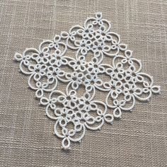 Tatting by the Bay: Magic Square Pattern is in the Shop