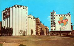 Schlitz Brewing Company, At one time, Schlitz was the largest brewer in the United States. Milwaukee Beer, Milwaukee Wisconsin, Milwaukee Skyline, Beer Company, Brewing Company, Schlitz Beer, Beer Brewing, Great Lakes, Best Cities