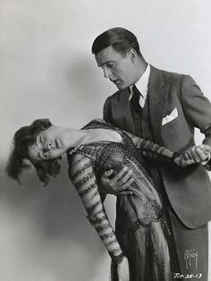 Lois Moran and Neil Hamilton in still from Fox's Don't Marry.