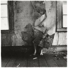 Francesca Woodman From Space2 providence Rhode Island 1976 C Betty and George Woodman