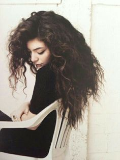 Lorde. I absolutely love her hair, though it wouldn't work for me haha :)