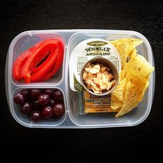 Super HEALTHY and easy school lunch!   packed in #EasyLunchboxes