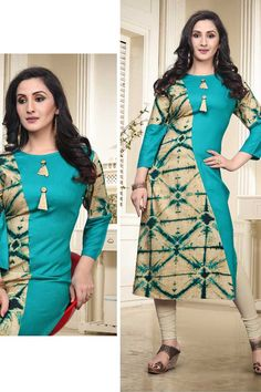 Wholesale Printed 14 Kg Rayon Occasional Wear Straight Readymade Kurtis Set Plain Kurti Designs, Salwar Neck Designs, Kurta Neck Design, Kurta Designs Women, Dress Neck Designs, Kurti Sleeves Design, Blouse Designs, Long Dress Design, Stylish Dress Designs
