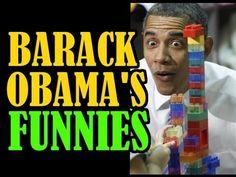 OBAMA'S JOKES - COMPILATION [inspirational speech,funny,comedy,parody,fail,jay leno,letterman] - YouTube
