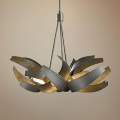 "Hubbardton Forge Corona 27"" Wide Dark Smoke Chandelier -  Saw this at Idlewood, looks fabulous but throws very little light"