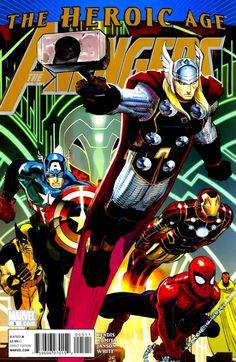 Avengers Vol. 4 # 5 by John Romita Jr. & Klaus Janson