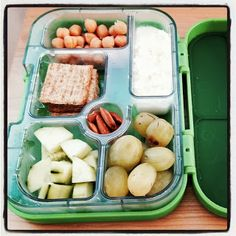 Toddler Lunch Meal Ideas, with protein, dairy, fruit, vegetable, grains, and a treat in each one.