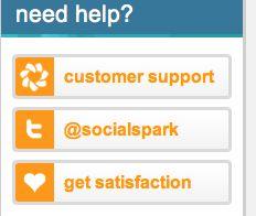 How to use Social Spark