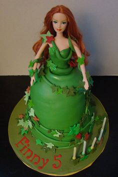 Poison Ivy/Villian cake