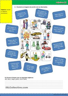 Adjetivos (2) apostilas - Apostilas de português gratuitas