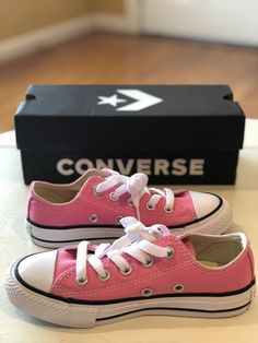 new arrivals 6b6ff f2675 Converse Chuck Taylor All Star Ox Size 11.5 Youth Girls Pink Color 3J238  Shoes  fashion