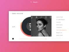 Music player concept designed by Sasha Nadelyaeva for Cadabra Studio. Connect with them on Dribbble; the global community for designers and creative professionals. Landing Page Inspiration, Graphic Design Inspiration, Banks The Altar, Motion App, Music App, Ui Web, Mind Games, User Interface Design, App Development