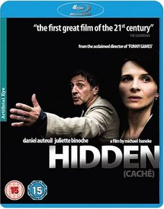 Cache * IMDb Rating: 7,3 (36.103) * 2005 France,Austria,Germany,Italy,USA * Darsteller: Daniel Auteuil, Juliette Binoche, Maurice Bénichou,