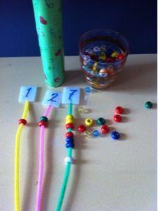 Şebnem'in Sınıfı: Tüylü Çubuklarla Matematik