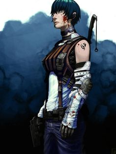 Female Assassin by mohzart