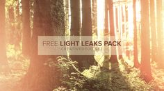 Grab 15 free light leaks from the CreativeDojo to use in your projects and edits. All light leaks are 1080p and can be used in any NLE with blending modes.