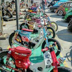 yuki Mac さんの Cub ボードのピン | Pinterest - Honda SuperCub Custom Style カスタムカブ画像集