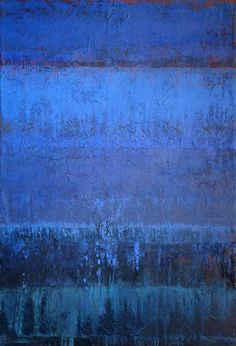 Jeannie Sellmer - Got Blue? Oil on canvas.