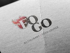 Fogo - Rafraîchissement de logo Logos, Euro, Company Logo, Lounge, Restaurant, Logo Designing, Airport Lounge, Drawing Rooms, Logo
