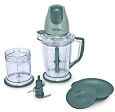 Ninja Blender/Food Processor for Frozen Blending, Chopping and Food Prep with Pitcher and Chopper Bowl Silver Ninja Food Processor, Blender Food Processor, Food Processor Recipes, Mini Blender, Portable Blender, Ninja Blender Reviews, Pina Colada Smoothie Recipe, Smoothie Recipes, Juicer Recipes