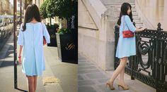 Đầm suông oversize nữ tính và sành điệu cho phái đẹp