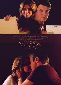 You. #caskett #love
