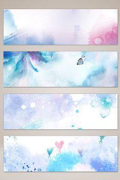 Flower Background Wallpaper, Background Banner, Watercolor Background, Background Images, Backgrounds Tumblr Pastel, Flower Backgrounds, Photo Backgrounds, Youtube Banner Design, Frame Clipart