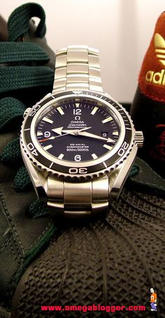 Omega Seamaster. I own one and it's my favorite watch.