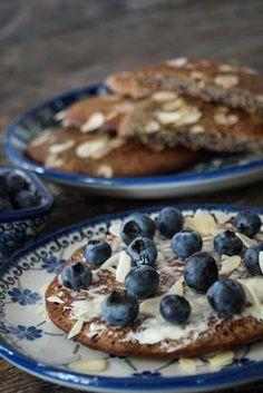 Puur & Lekker leven volgens Mandy: Blauwe bes (ontbijt)koeken