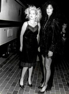 Cyndi Lauper and Cher