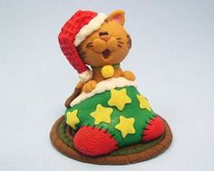 The New Clay News: Christmas Cat Tutorial