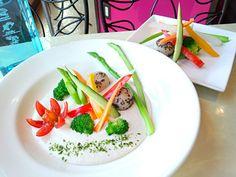 嶋倉秀一's dish photo 大地の恵 里芋ソースのバーニャカウダ | http://snapdish.co #SnapDish #レシピ #お誕生日 #オーガニック #ベジタリアン