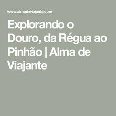 Explorando o Douro, da Régua ao Pinhão | Alma de Viajante
