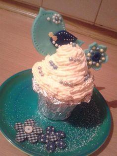 Muffin s ptáčkem/ Spring muffin