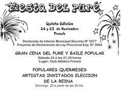 5ª Fiesta del Pure en French, Nueve de Julio