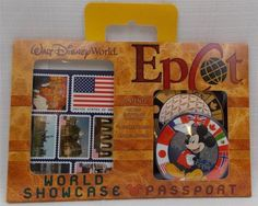 Disney-World-Parks-Epcot-World-Showcase-Passport-Kit-New