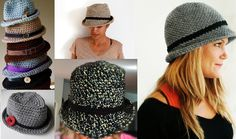 Fedora hat will make your look more attractive and smart. For you we have free pattern as usual. Please enjoy and good luck