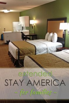 A review of Extended Stay America for families - and an exclusive discount code! @tips
