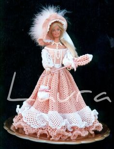 1000 images about vestiti per barbie all uncinetto on pinterest