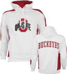 486b52fff48 The Ohio State Buckeyes are your favorite team and you  proud of it so why  not let everyone know with this White Spiral Pullover Fleece Hoodie.