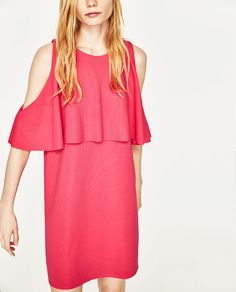 Image 2 of OFF-THE-SHOULDER DRESS from Zara