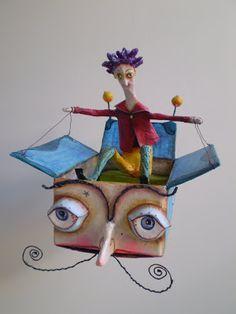 barco de papel...Juliana Bollini