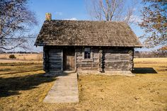 Little House in the Big Woods    Replica of Laura Ingalls Wilder's home near Pepin, Wisconsin.By mike fuerst