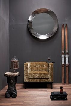 Kare Design Kare Design Fauteuil Mirage - Velvet Goud
